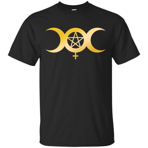 Triple Moon Of The Goddess Shirt - The Moonlight Shop