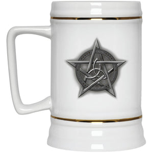 Triquetra In Pentacle Mug - The Moonlight Shop