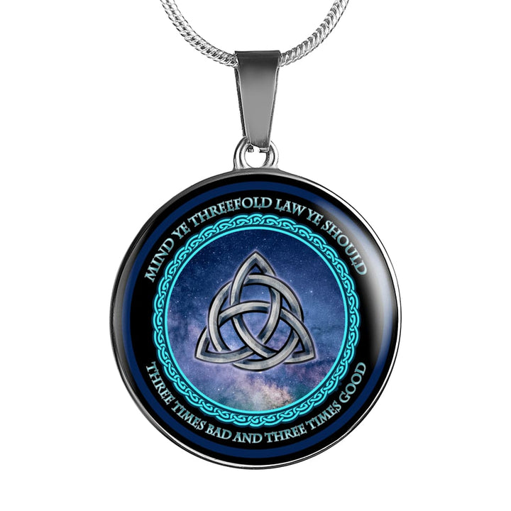 Triquetra Luxury Necklace - The Moonlight Shop
