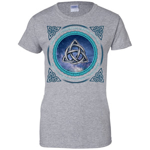 Triquetra Shirt - The Moonlight Shop