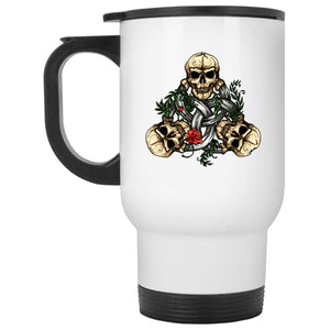 Triquetra Skull Mug - The Moonlight Shop
