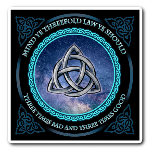 Triquetra Sticker - The Moonlight Shop