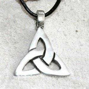 Triquetra Triple Goddess Necklace - The Moonlight Shop