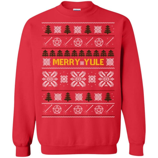 Ugly Yule Sweatshirt Red - The Moonlight Shop