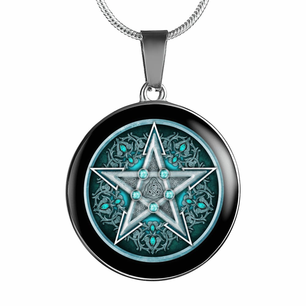 Water Pentacle Luxury Necklace