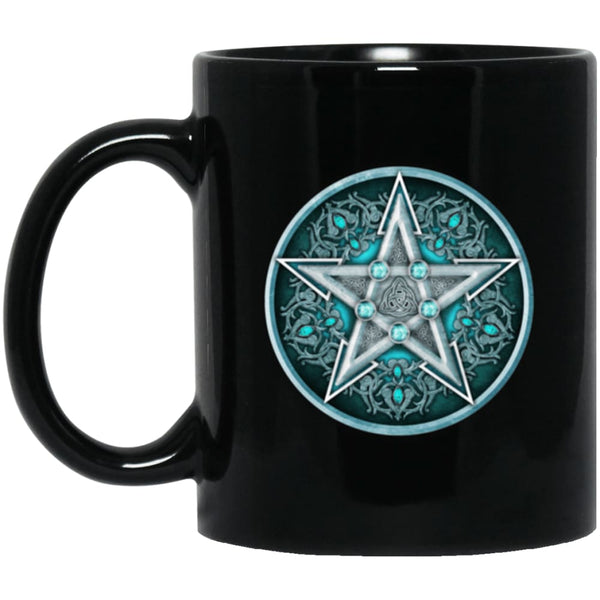 Water Pentacle Mug - The Moonlight Shop