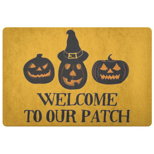 Welcome To Our Patch Doormat - The Moonlight Shop