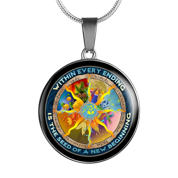 Wheel Of The Year Luxury Necklace - The Moonlight Shop
