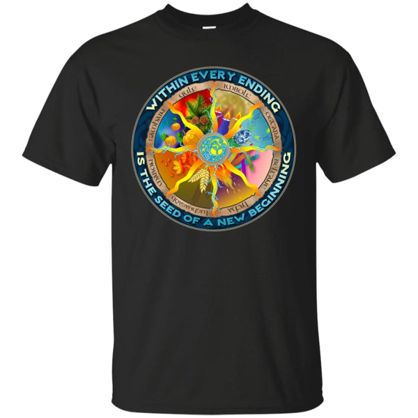 Wheel Of The Year Shirt - The Moonlight Shop