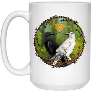White And Black Magick Love Mug - The Moonlight Shop