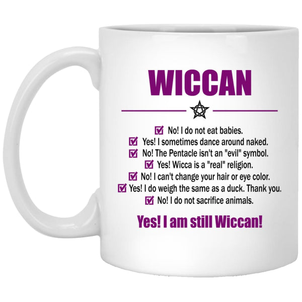 Wiccan Checklist Mug - The Moonlight Shop