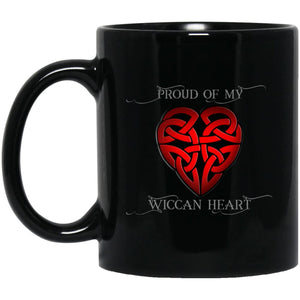 Wiccan Heart Mug - The Moonlight Shop