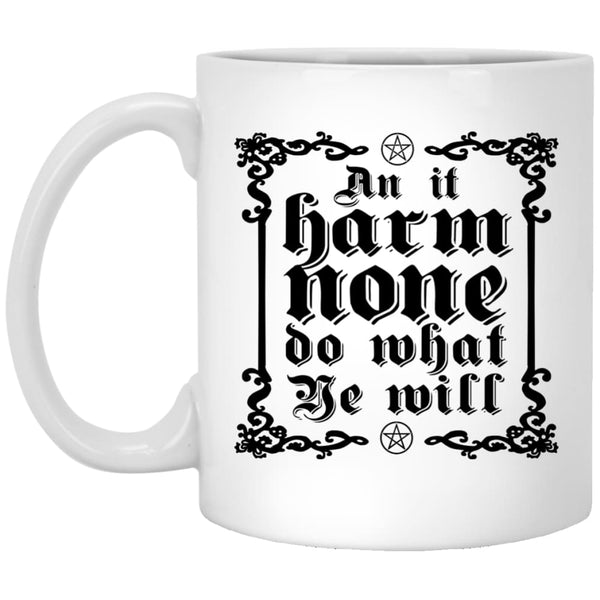Wiccan Rede Mug - The Moonlight Shop