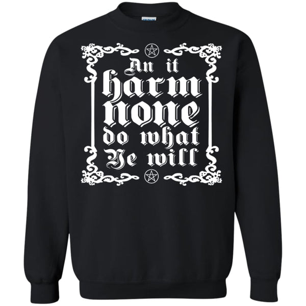 Wiccan Rede Sweatshirt - The Moonlight Shop