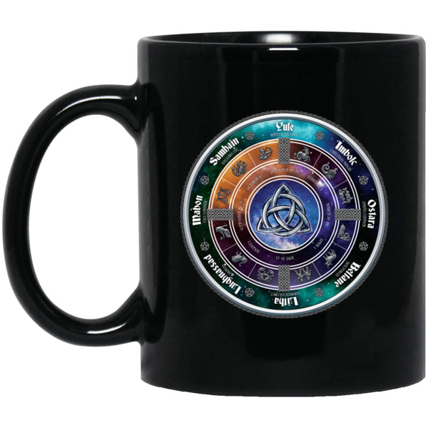 Wiccan Sabbats Mug - The Moonlight Shop
