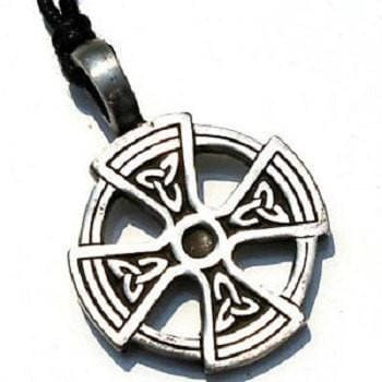 Wiccan Solar Cross With Triquetra - The Moonlight Shop