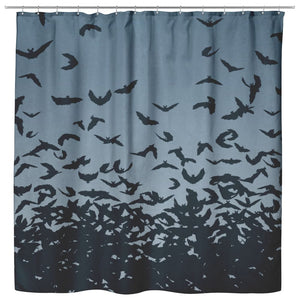 Wild Bats Shower Curtain - The Moonlight Shop