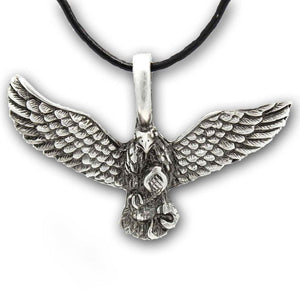 Wings Of Power Eagle Necklace - The Moonlight Shop