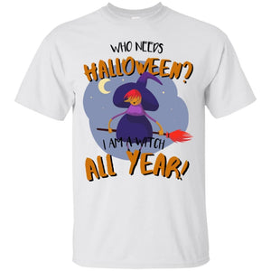Witch All Year Shirt - The Moonlight Shop