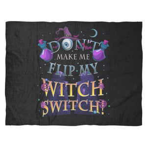 Witch Switch Fleece Blanket - The Moonlight Shop