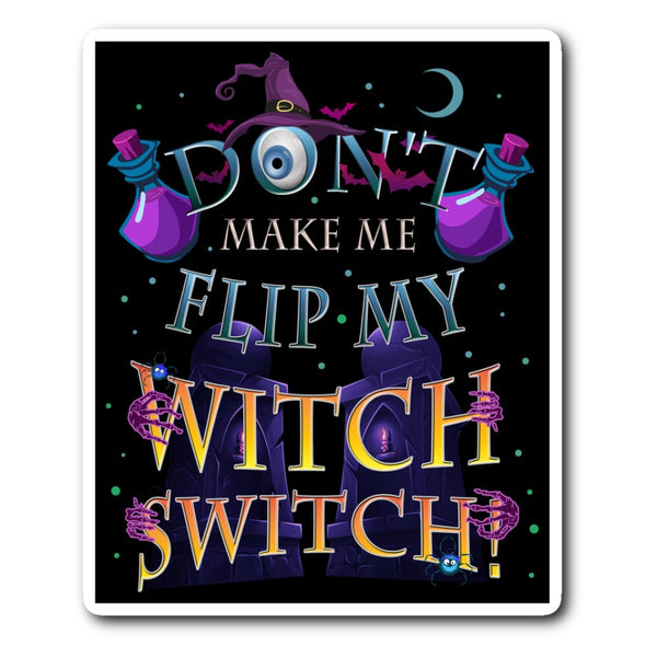 Witch Switch Sticker - The Moonlight Shop