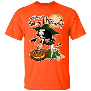 Witching You A Happy Halloween Shirt - The Moonlight Shop