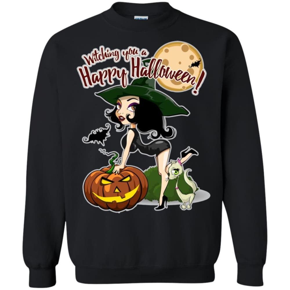 32df25a25 Witching You A Happy Halloween Shirt - The Moonlight Shop