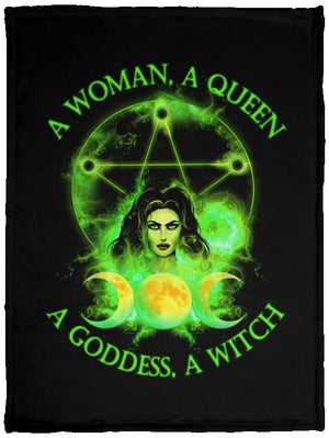 Witchs Power Fleece Blanket - The Moonlight Shop