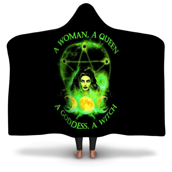 Witchs Power Hooded Blanket - The Moonlight Shop