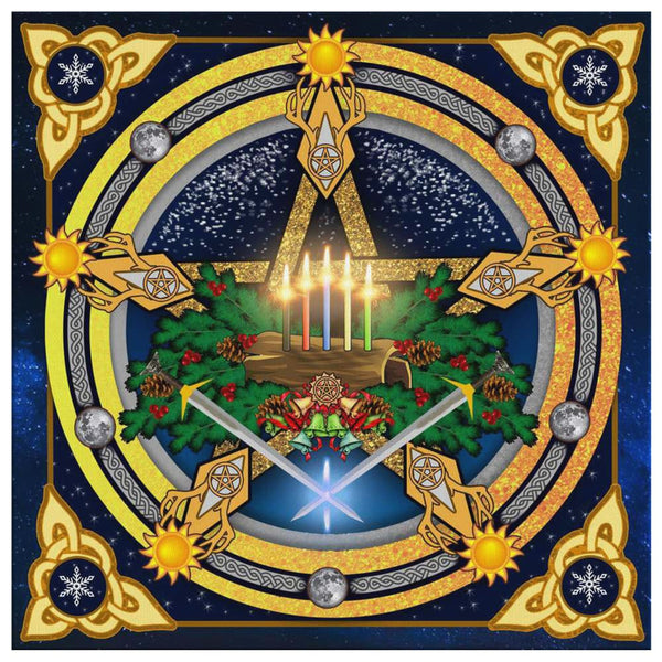 Yule Canvas Wall Art - The Moonlight Shop
