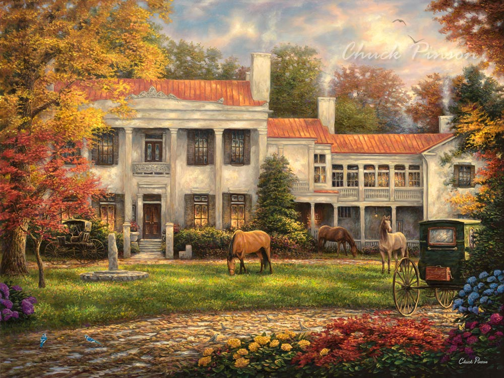 Belle Meade Plantation Painting
