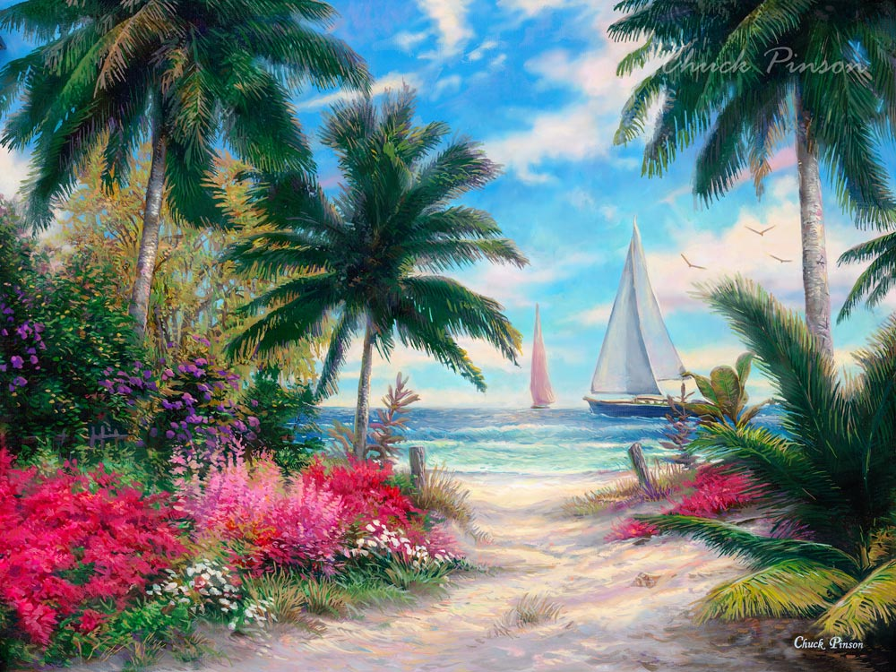 Beach House Art Painting Decor