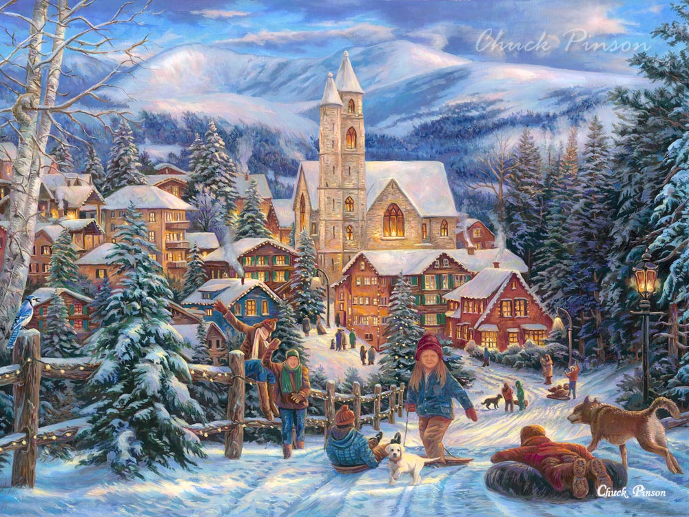 best selling popular winter art