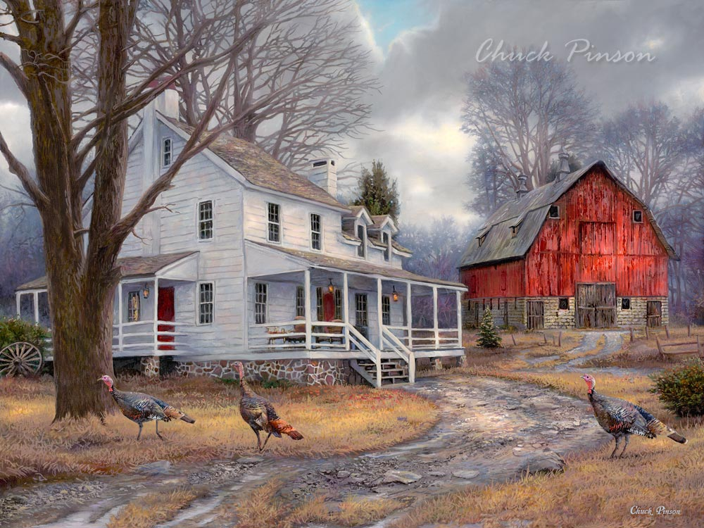 Beautiful Rustic art paintings