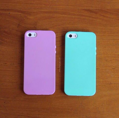 Flexible Pastel iPhone Cases