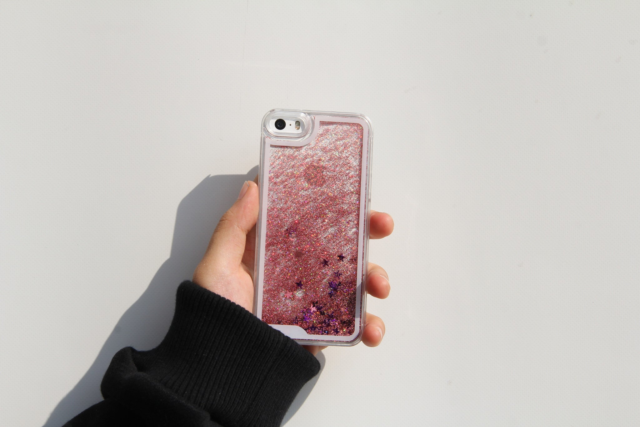 Glitter Pink iPhone Case