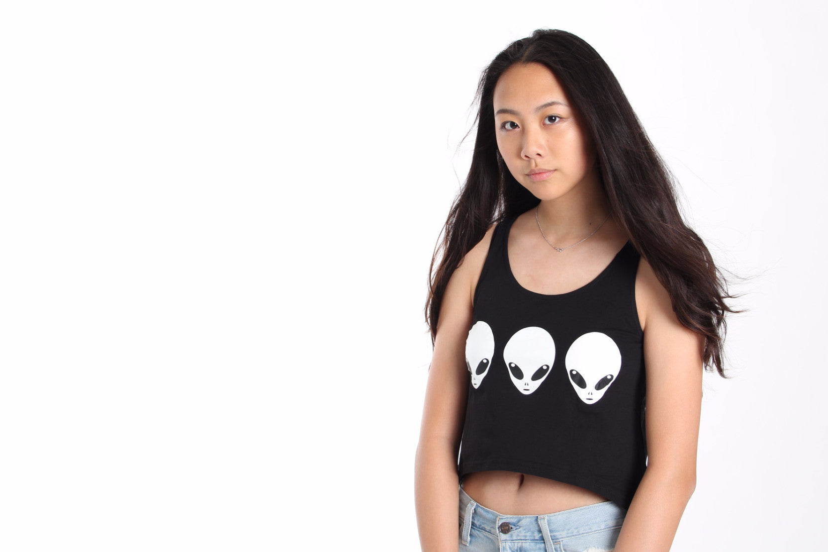 Out Of This World Crop Top