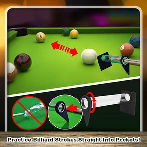 AimTarget Adjustable Billiards Stroke Trainer