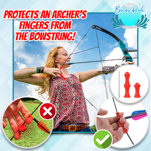 Archery Silicone Finger Guard