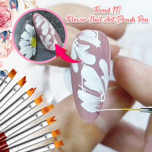 Trend IT! Flower Nail Art Brush Pen