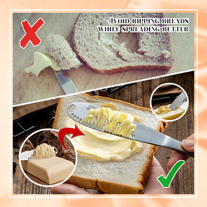 3-in-1 Kitchen+ Butter Spreader Knife