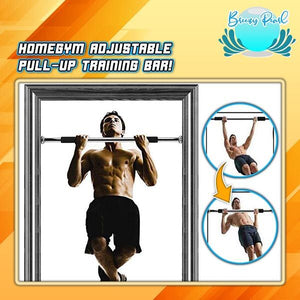 HomeGym Adjustable Pull-Up Training Bar