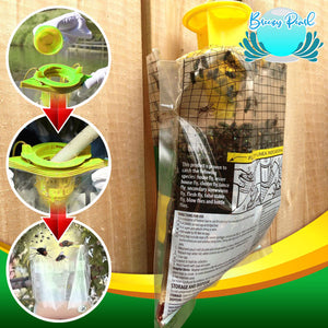 QuickCatch Disposable Hanging Fly Trap