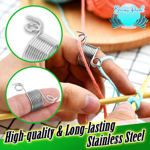 Knitting Assistant Coil Needle Thimble (5pcs)