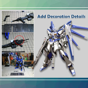 Metalize+ Gundam Detailing Upgrade Kits