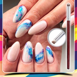 VibrantHue Gradient Nail Art Paint Brush