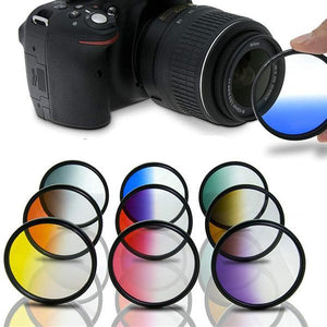 InstaEnhance Gradient Camera Lens Filter