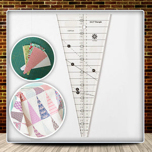 10° Triangle Quilt Ruler
