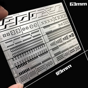 ExtraCarve 13-in-1 Auxiliary Ruler
