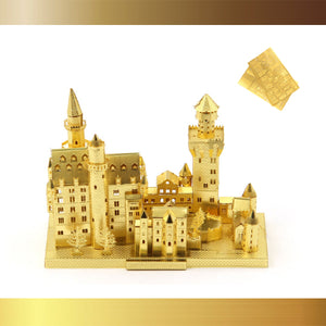 MiniBuilds 3D Metal Puzzle Scale Model Kits